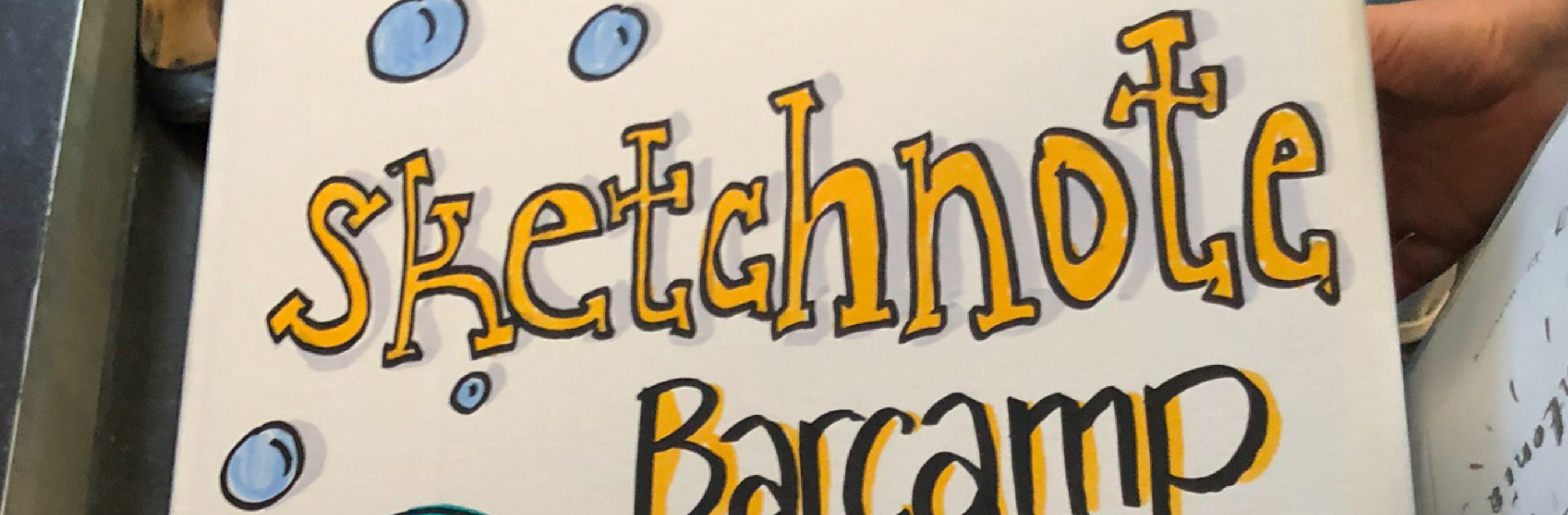 Sketchnote Barcamp Header